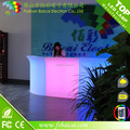 Led furniture factory sell light bar /club counter service table