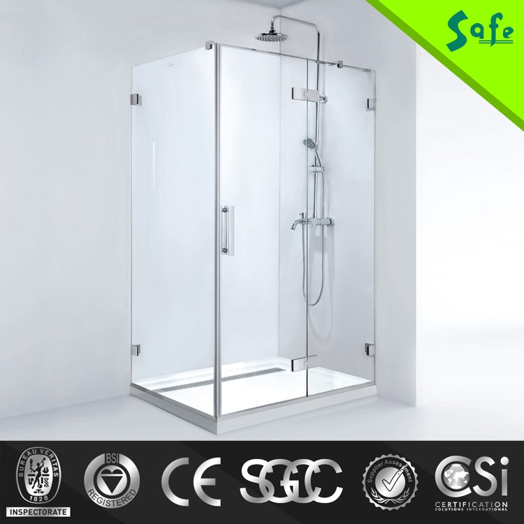 6mm Glass Thickness and Rectangle Tray Shape italian shower cabin