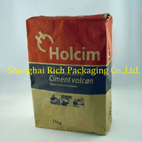 25kg Cement Kraft Paper Sack With