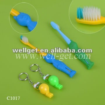 Kids Toothbrush With Whistle/Child Safety/Gifts Dentist