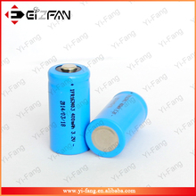 Shenzhen Wholesale LiFePo4 Battery 3.2V 400mah Rechargeable Battery 16340 For Electronic Cigarette