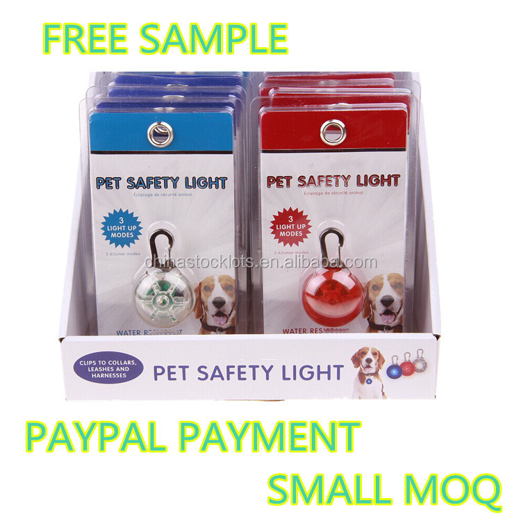 hot sale products in 2017 top 50 dogs cats small animals night pet led light pendant ID tags in Pet Collars & Leashes