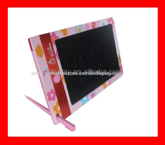 "2017 new kids toy drawing board for 8.5"" pink education LCD film no radiation easy delete HOT SELLING"