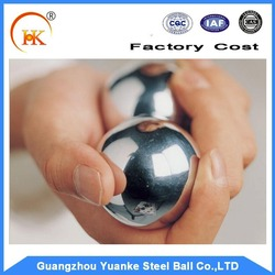 High precision 25mm-55mm stainless steel baoding balls for hand health exercise