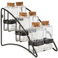 Haisong Expert Factory for Kitchen Metal Chrome Spice Rack