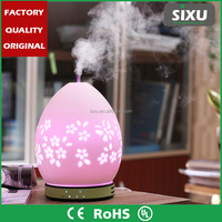 Large Mist Essential Oil Aroma Diffuser LED Aroma Humidificador LED Bedroom Desktop Crystals Humidifier