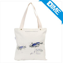 Recyclable fair trade cotton bags with custom logo