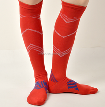 protection of the lower leg stocking men's /women pressure sports socks knee high elastic medical thin leg socks wholesale