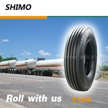 Semi truck tire sizes 11r22.5 with wear resistance