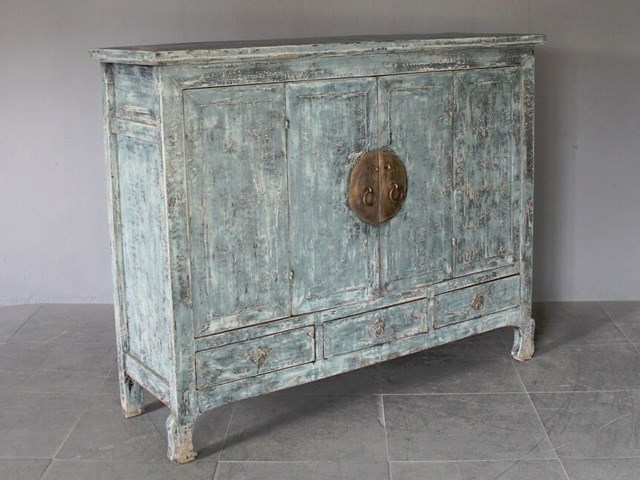 Nordcasa antique furniture offer blue vintage shabby chic - Gray shabby chic furniture ...