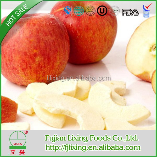 Top grade manufacture apple chips healthy snack