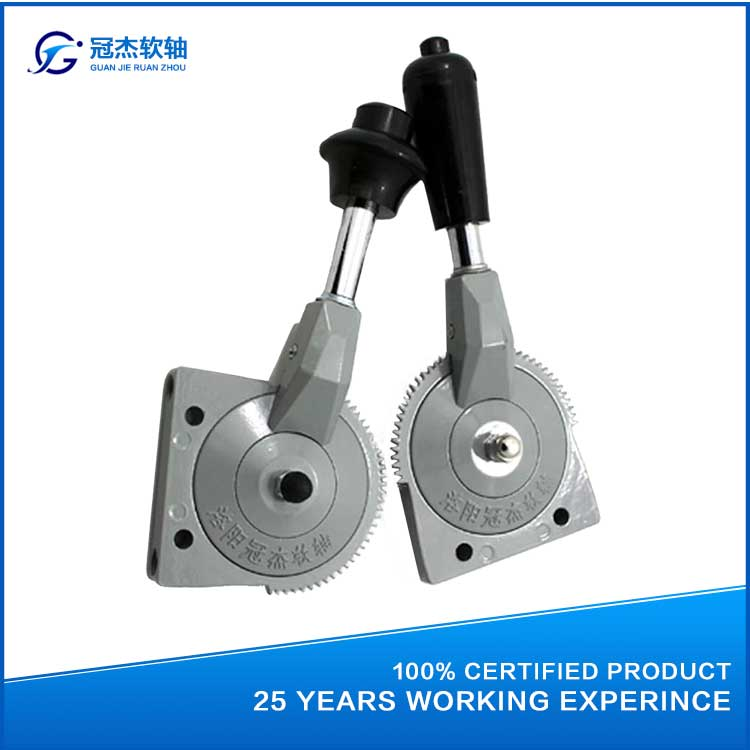 GJ1103A hot sale hand throttle cable control lever for construction machinery