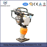 ood quality Construction Machinery 75kg Gasoline Tamping Rammer With Honda GX160