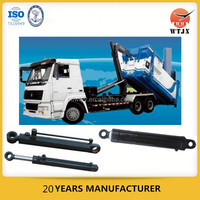 3T hook arm type garbage truck hydraulic system/hydraulic cylinders