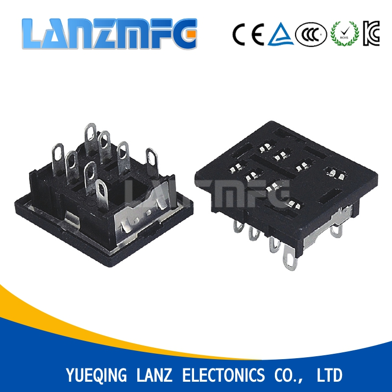 13F - 2Z - A PCB Type Electrical Socket,8 Pin Relay Socket