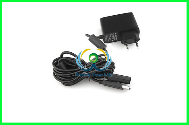 USB Power Supply Extension Cable AC Adapter For XBox 360 Kinect Sensor