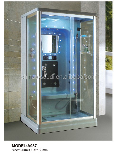 China supplier portable steam shower, steam shower bath for 2 person