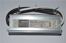 36w 1500ma waterproof constant current led lighting driver dimmable led driver