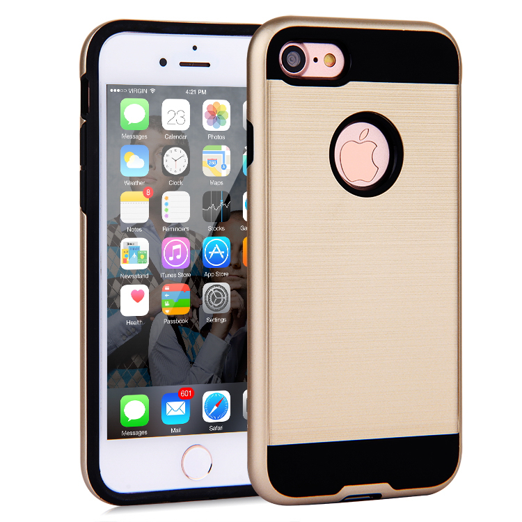 Sublimation protective armor cell phone case for iphone 7/7plus
