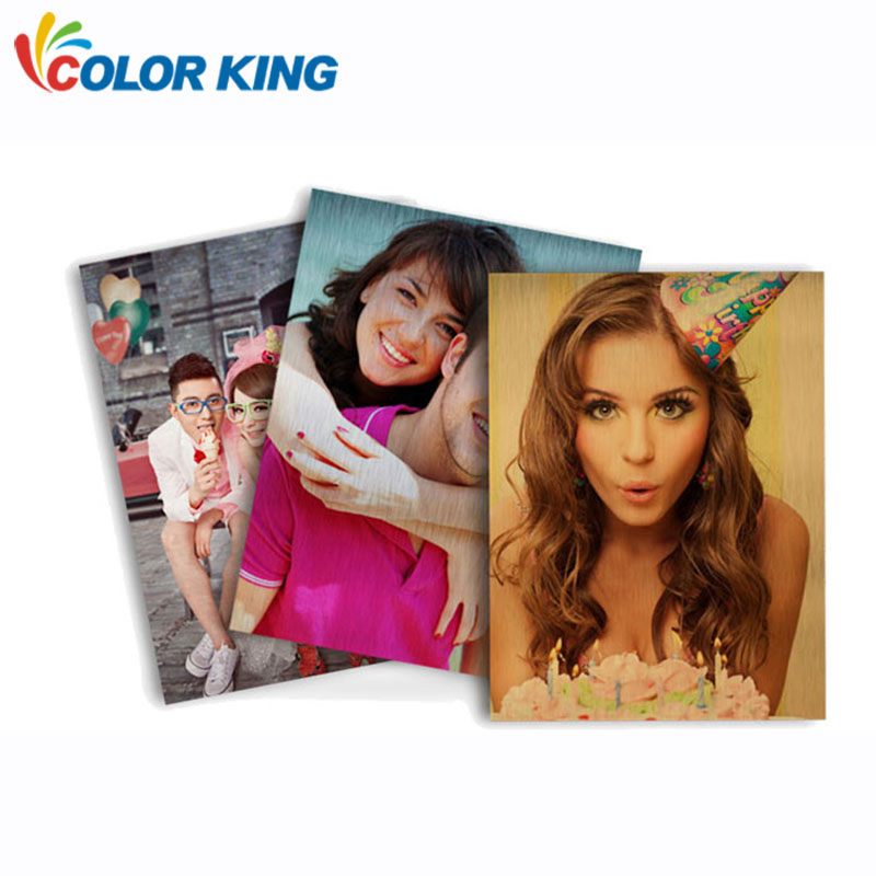 Colorking Sublimation Thin <strong>Aluminum</strong> Metal Board Sheets with 10*10cm