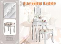 Furnishing 3-Piece Vanity Set, White