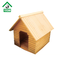 Non-toxic Accept custom order large luxurious wooden dog house for