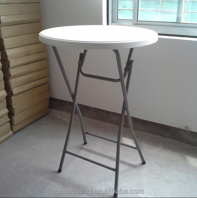 plastic high top bar tables standing round table