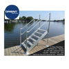 High quality Marine Grade Aluminium float dock floating dock plastic pontoons ladder