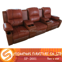 Genuine Leather VIP sofa Electric Recliner Functional Sofa