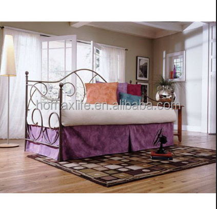 bedroom furniture wrought iron sofa cum bed
