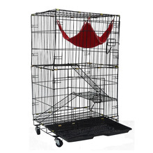 Fancy double heated cat outdoor kennel MHC003