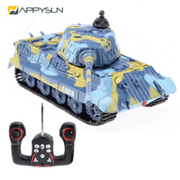 Funny Rc Toys 27/35/40/49 Mhz Rc Battle Tank With Sound
