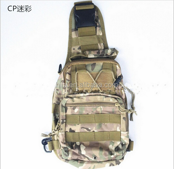 Cool Tactical Chest Shoulder Camouflage  Bag Waterproof Outdoor Sports Bag