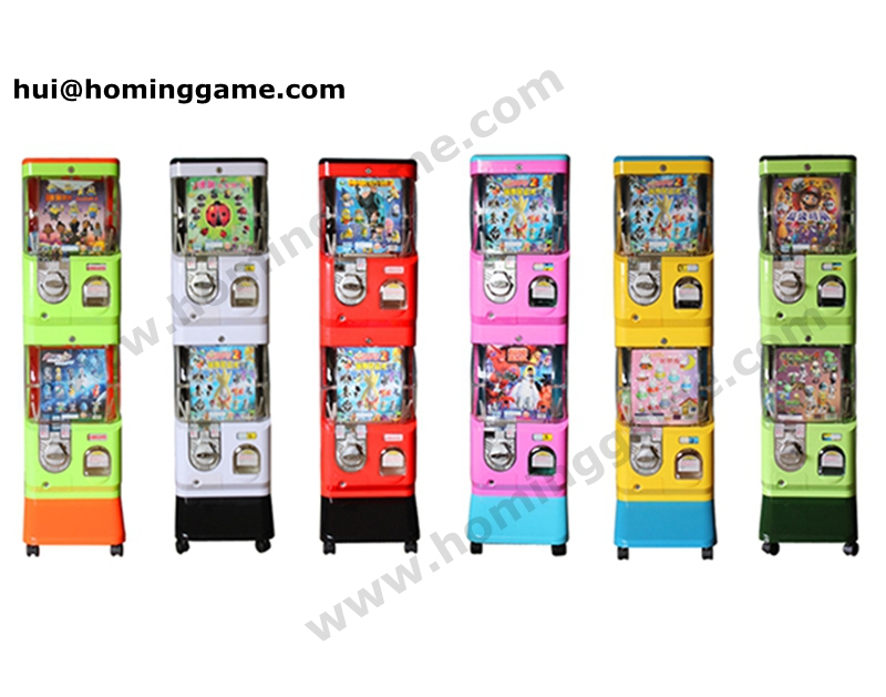 Wholesale price capsule toy vending machine/Toy vending machine plastic capsules for sale