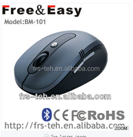 BM-101 Bluetooth black wireless mouse