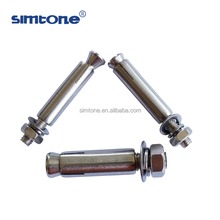 Staninless steel expansion anchor bolt M6 M8 M10 M12 M16 M20 china manufacture
