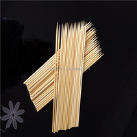 Eco fruit round bamboo sticks