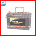 Professional Manufacturing DIN Dry Charged Auto Battery MF95D31R 12V80AH