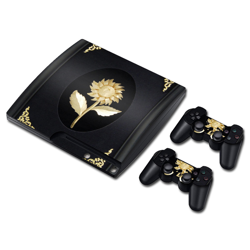 Colorskin Skin Sticker for Sony Playstation 3 Slim Console and Controller PVC Vinyl Skin Sticker for PS3
