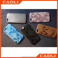 New Arrival Phone Case For iPhone 5 5S SE Cool Snake Skin Flip PU Leather Shell Protect Back Cover