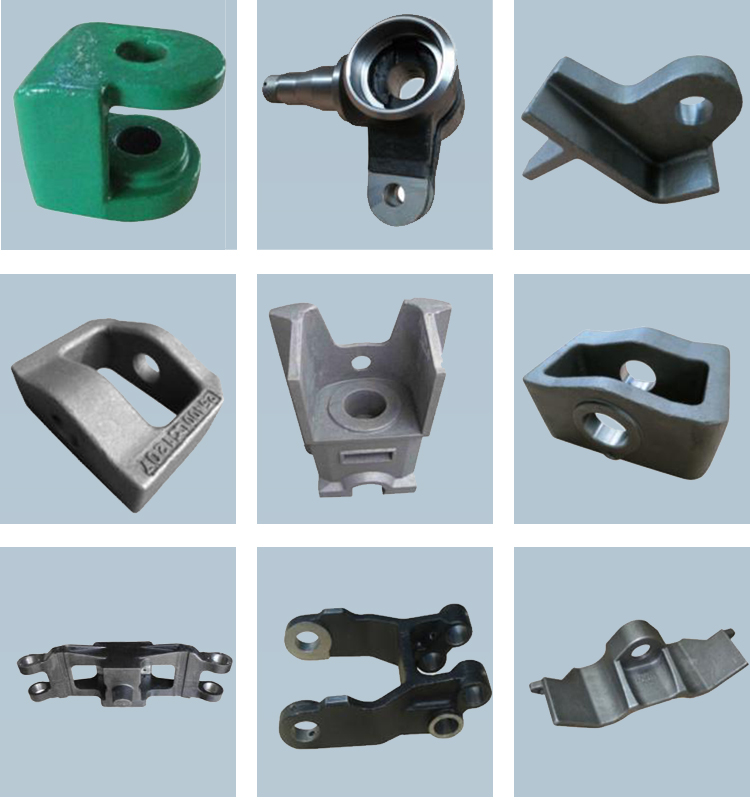 OEM forklift attachments machinery cast iron 304 stainless steel casting metal part