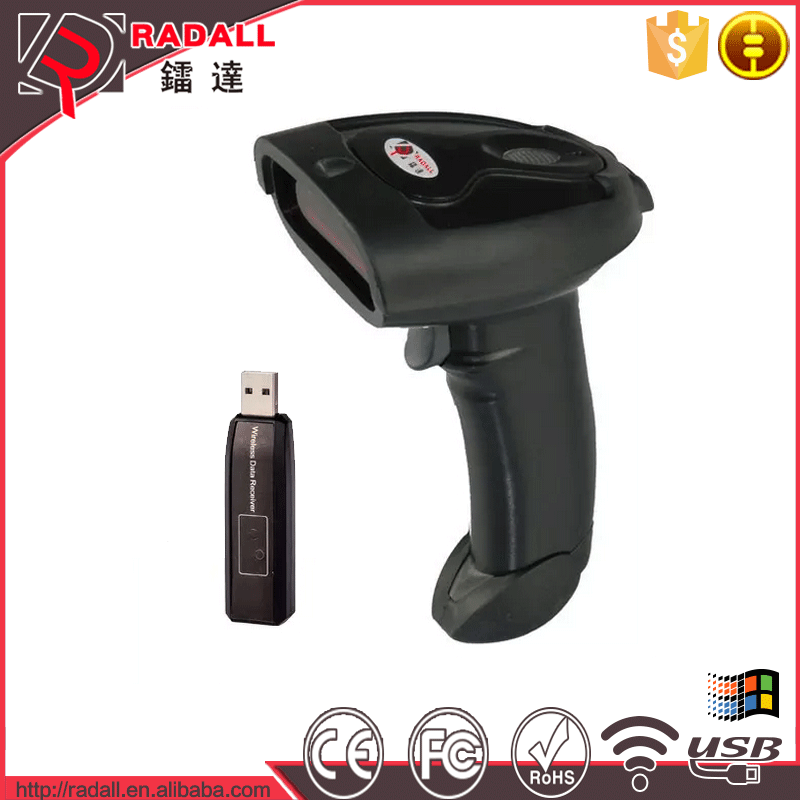 RD - 200 wireless barcode scanner Barcode Scanner Type Android Tablet PC / Smart Phone 1D Barcode Reader