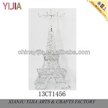 2013 New Metal iron home decoration eiffel tower style decoration