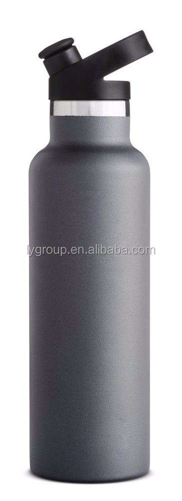 Hot Selling Double Walled Vacuum Insulated Stainless Steel Water Bottle, 20oz Standard Mouth Width,Sport Cap