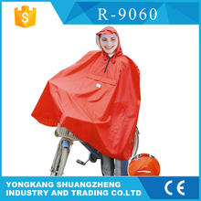 0.18mm polyester coated pvc poncho rain