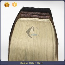 High And Super Quality 100% Brazilian Hair Clip-On Hair Extension