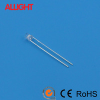 ALLIGHT 3mm flat top uv led 380nm