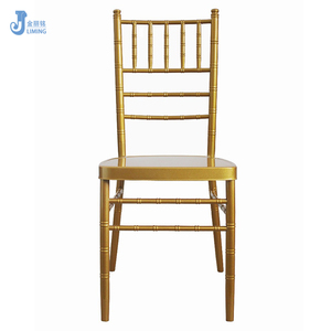 Wholesale wedding silla bamboo iron chiavari chair