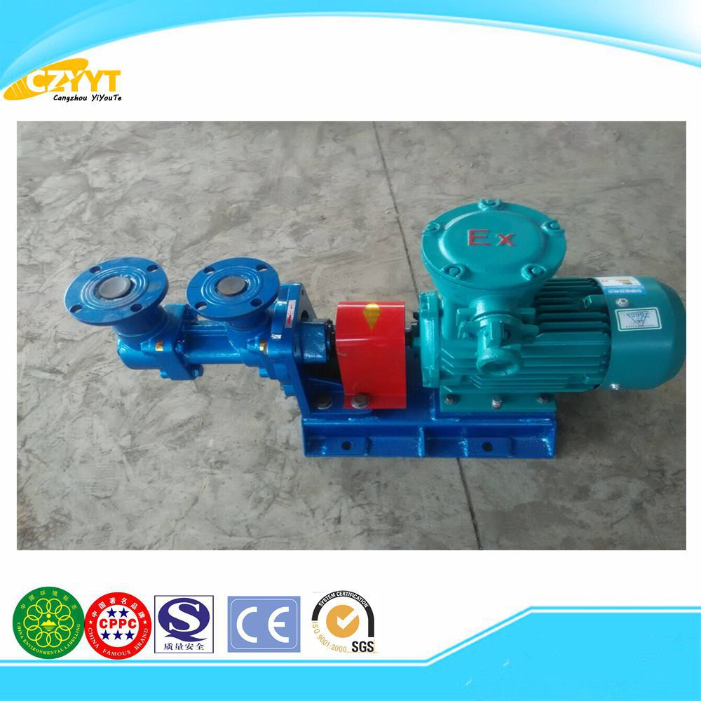 motor driven three screw oil pump