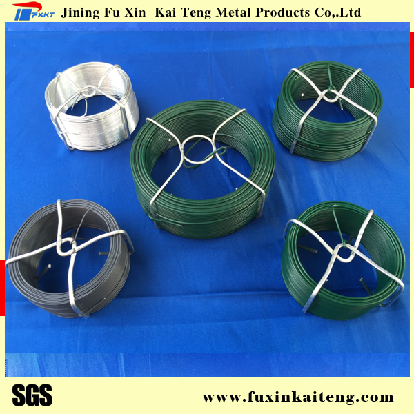 PVC coated galvanized iron wire for garden fence